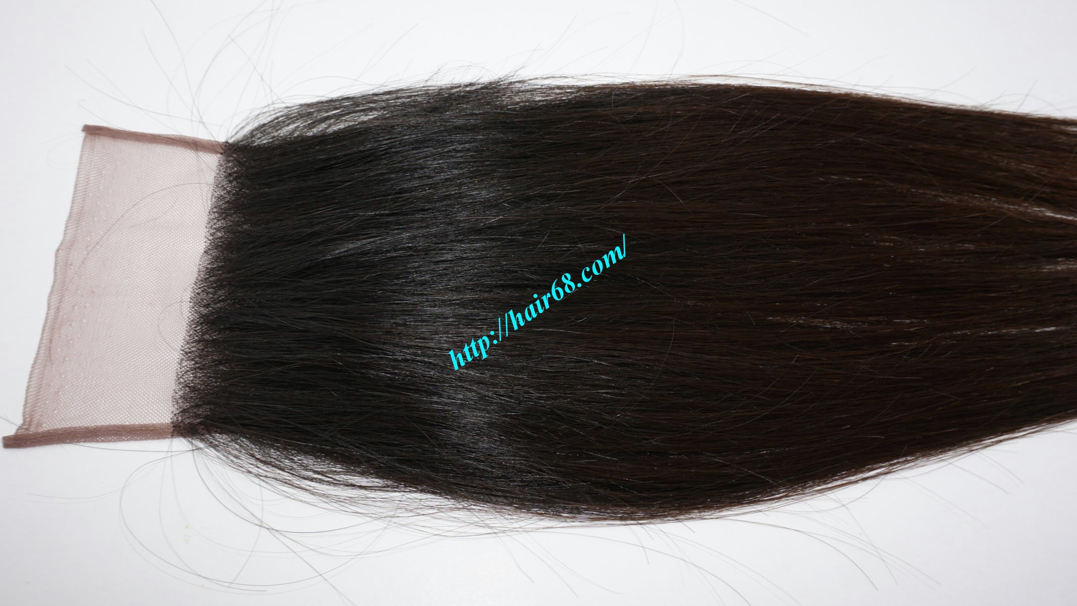 16 inch 4x4 straight lace closure 3