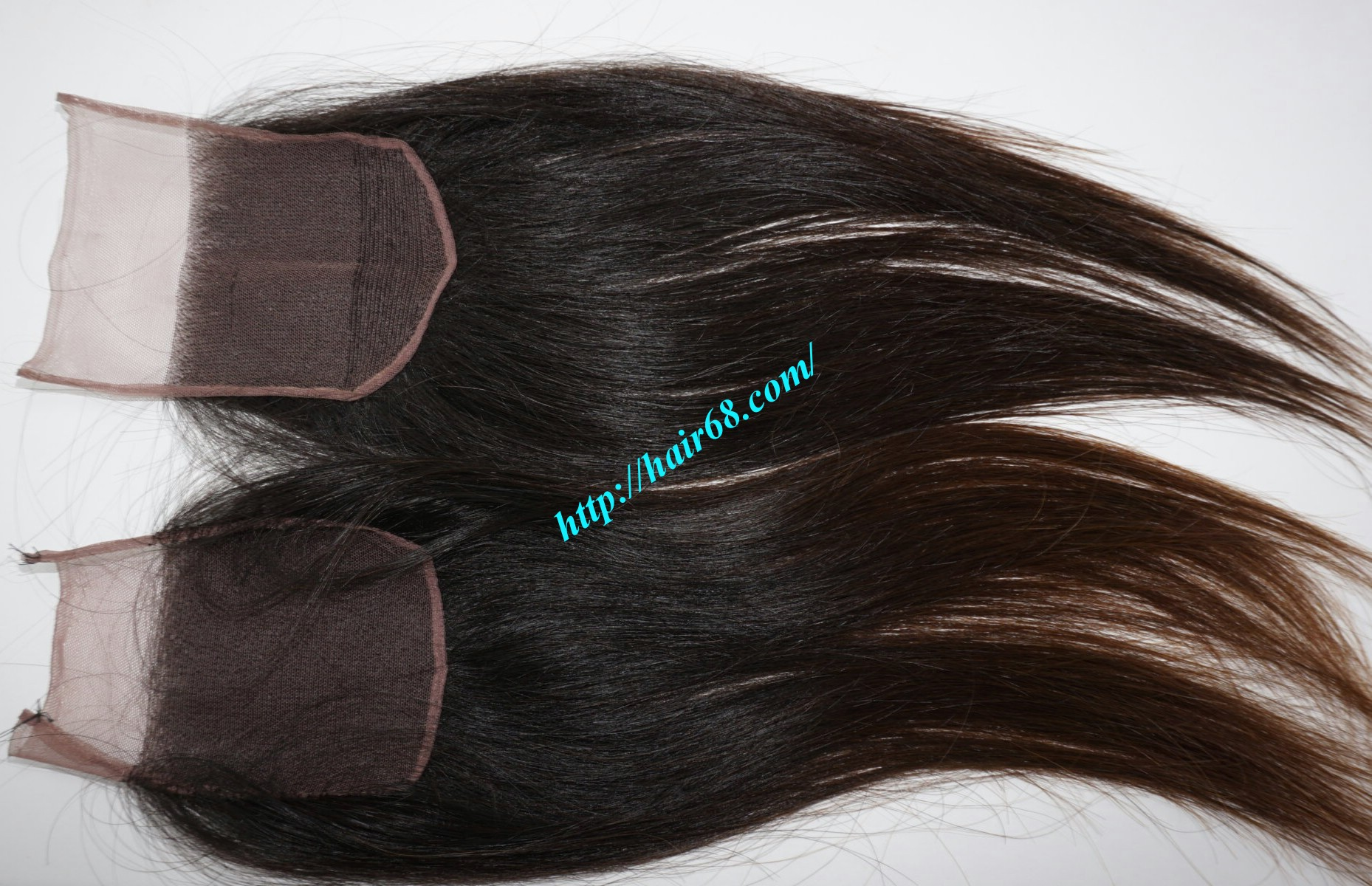 16 inch 4x4 straight lace closure 6