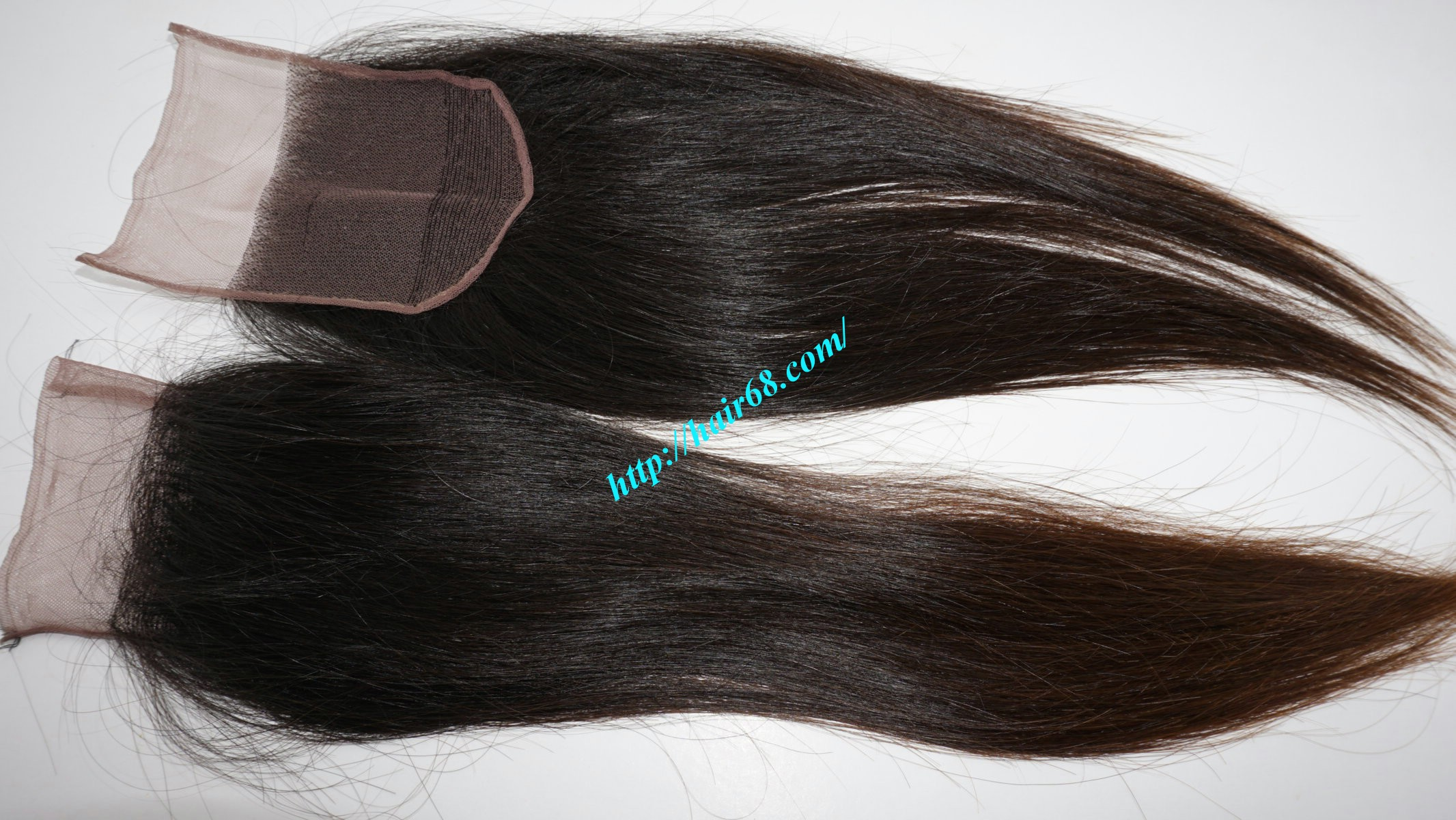 Straight Lace Closure 4x4 12 inch 7