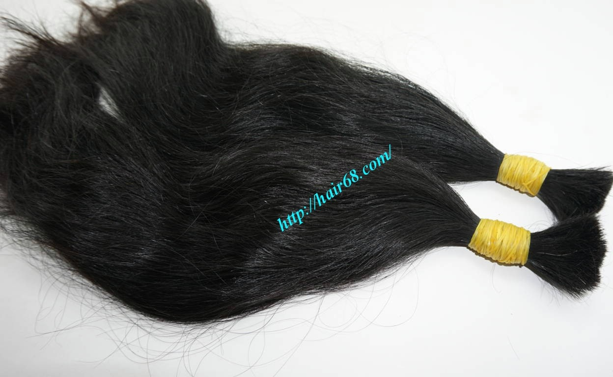 10 inch natural wavy hair extensions 1