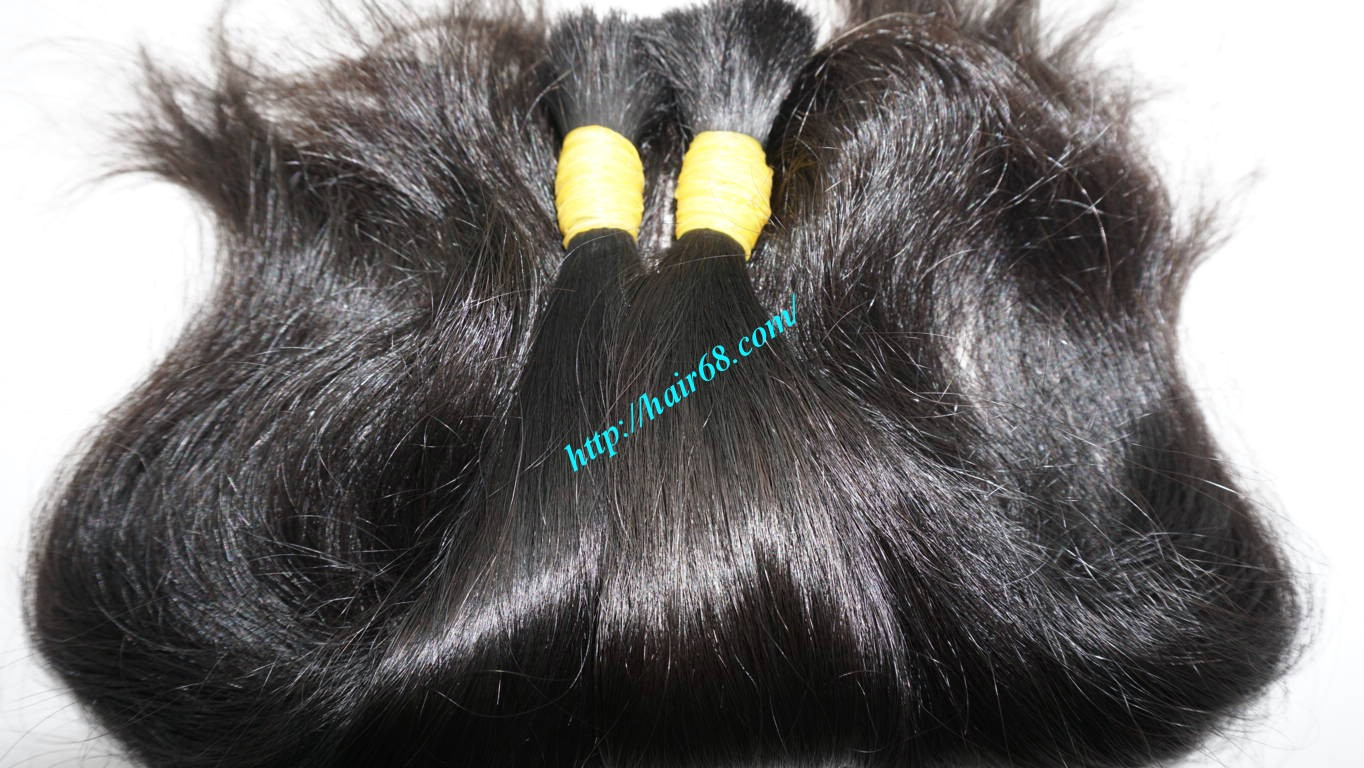 10 inch natural wavy hair extensions 5