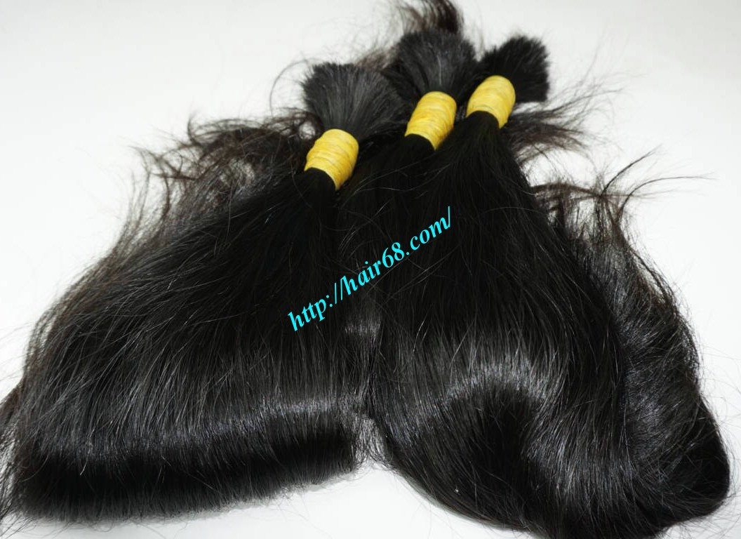 10 inch natural wavy hair extensions 6