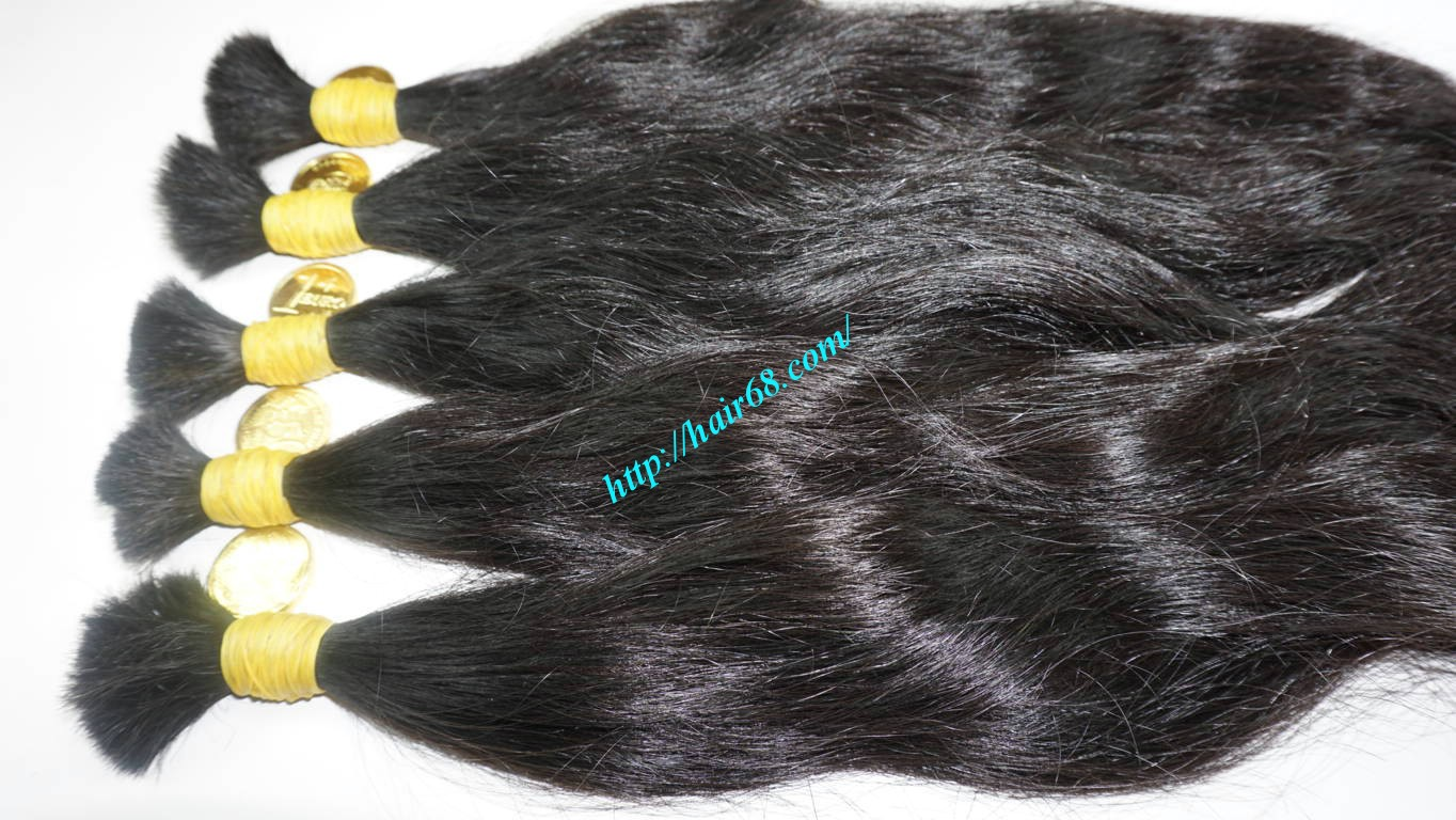 10 inch natural wavy hair extensions 7