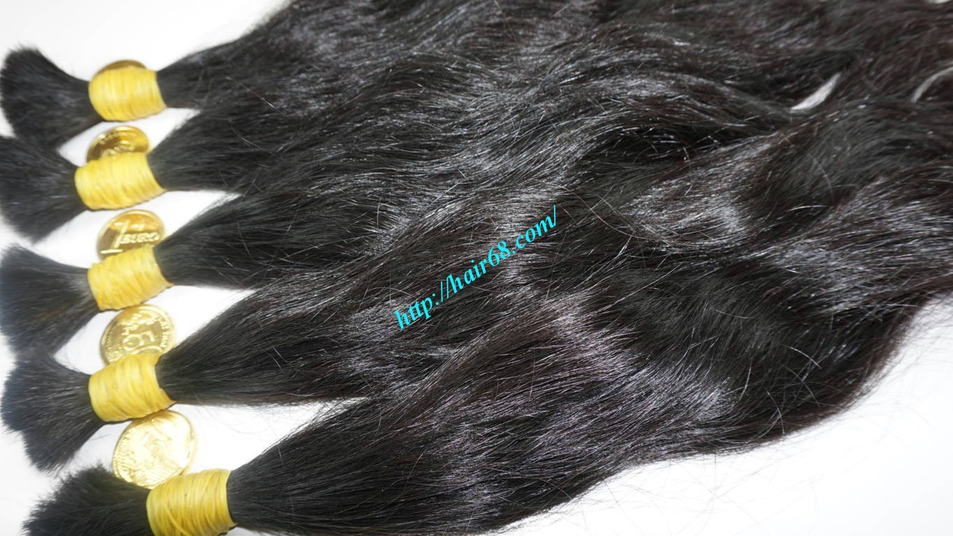10 inch natural wavy hair extensions 8