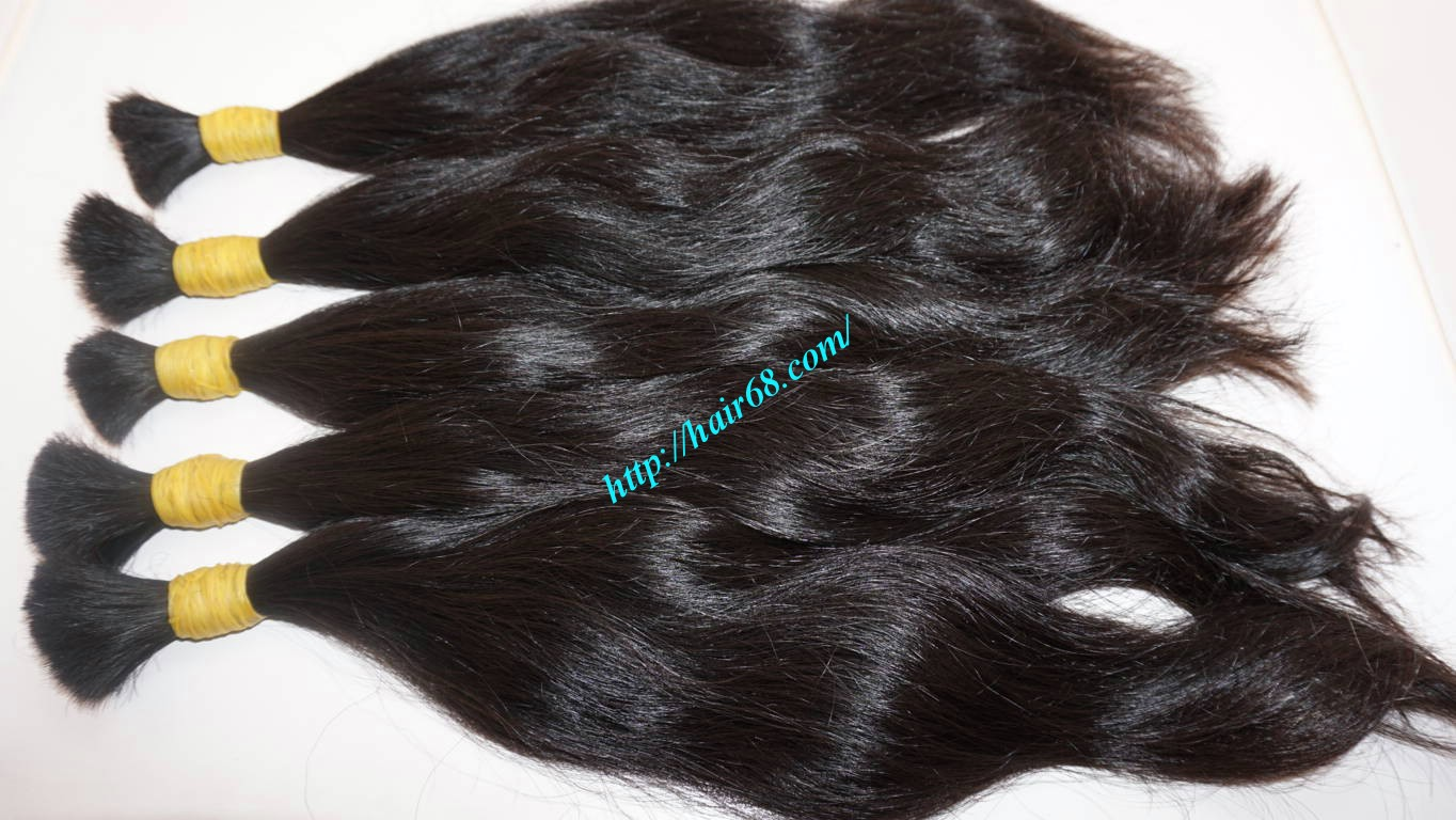 10 inch natural wavy hair extensions 9
