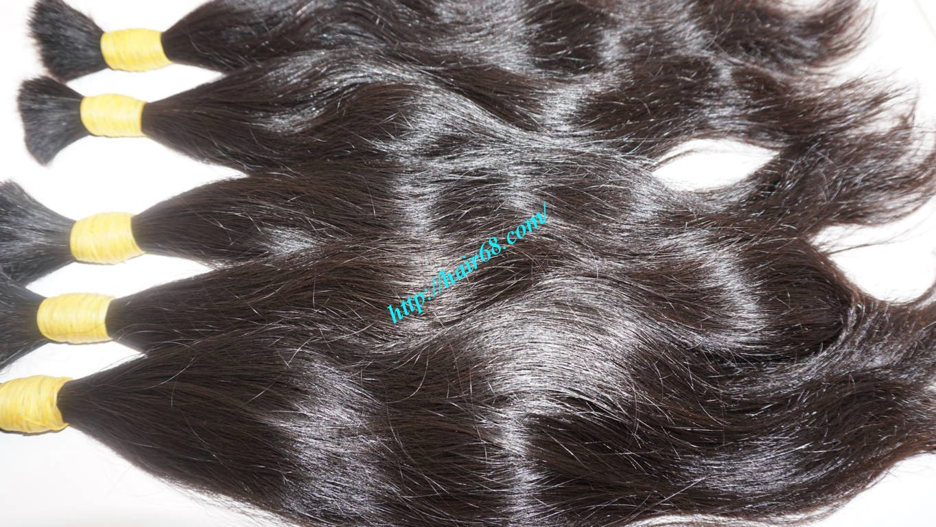12 inch natural human hair extensions 2