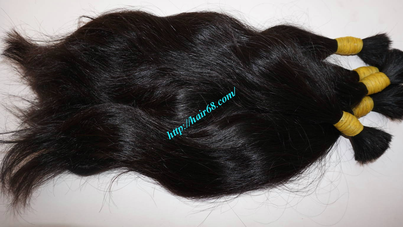 12 inch natural human hair extensions 3