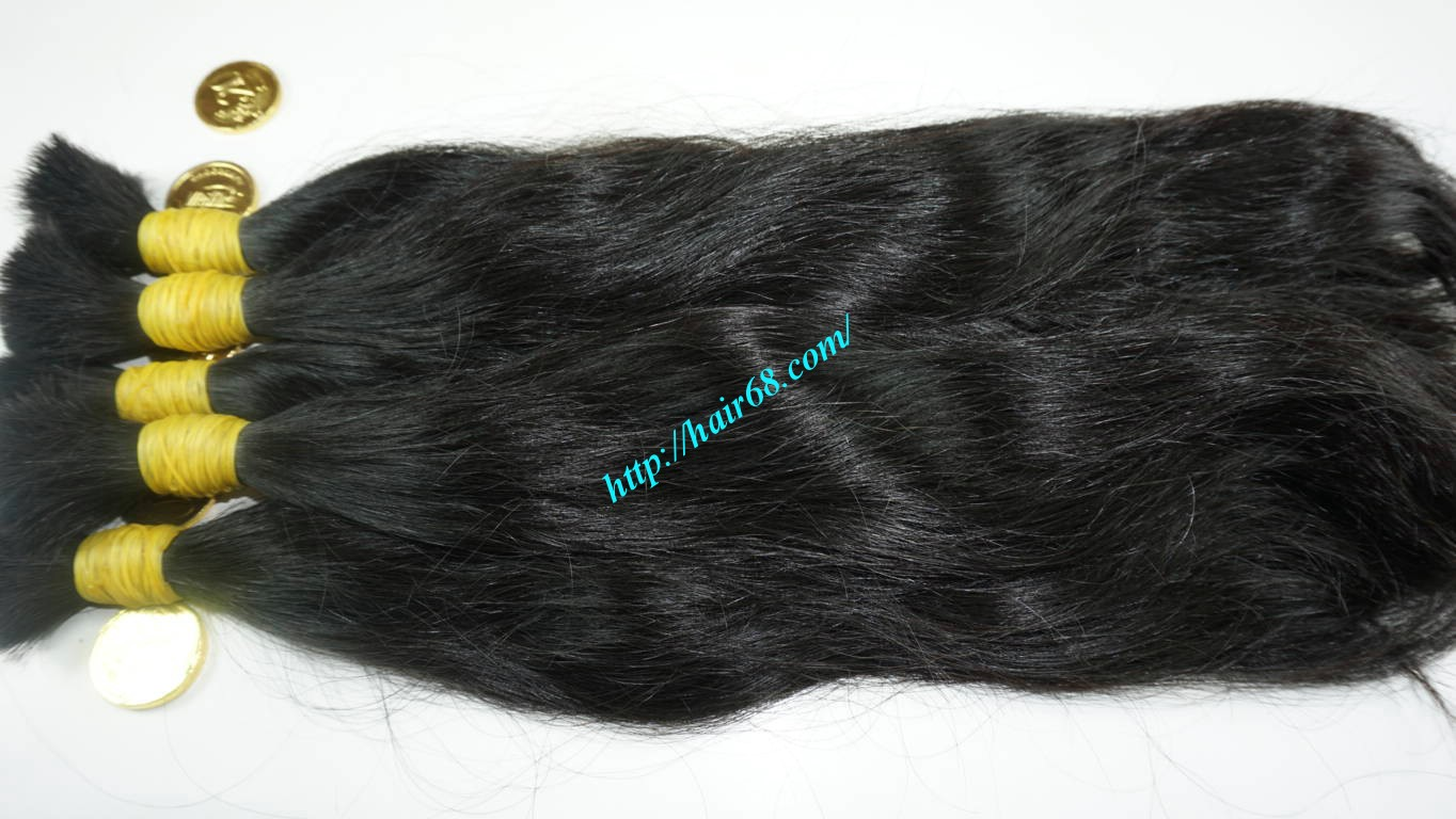 14 inch wavy real hair extensions 2