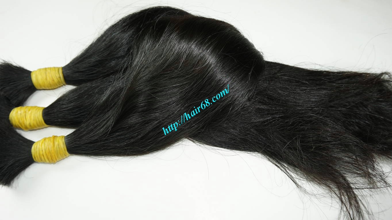 14 inch wavy real hair extensions 3