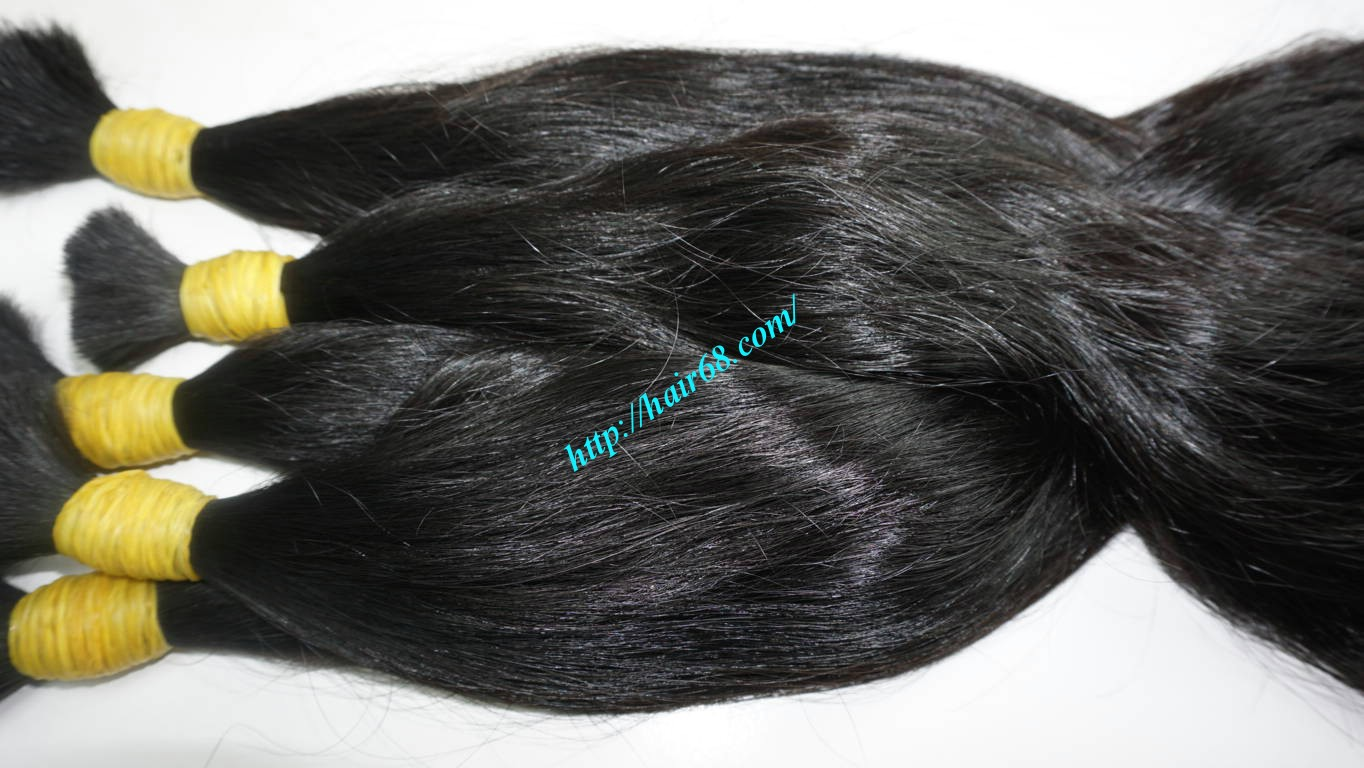14 inch wavy real hair extensions 5