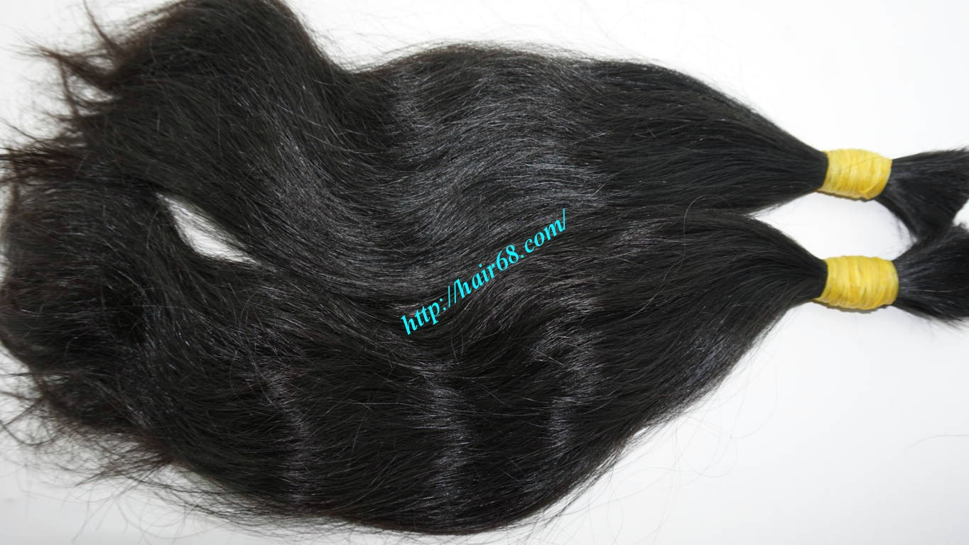 14 inch wavy real hair extensions 6