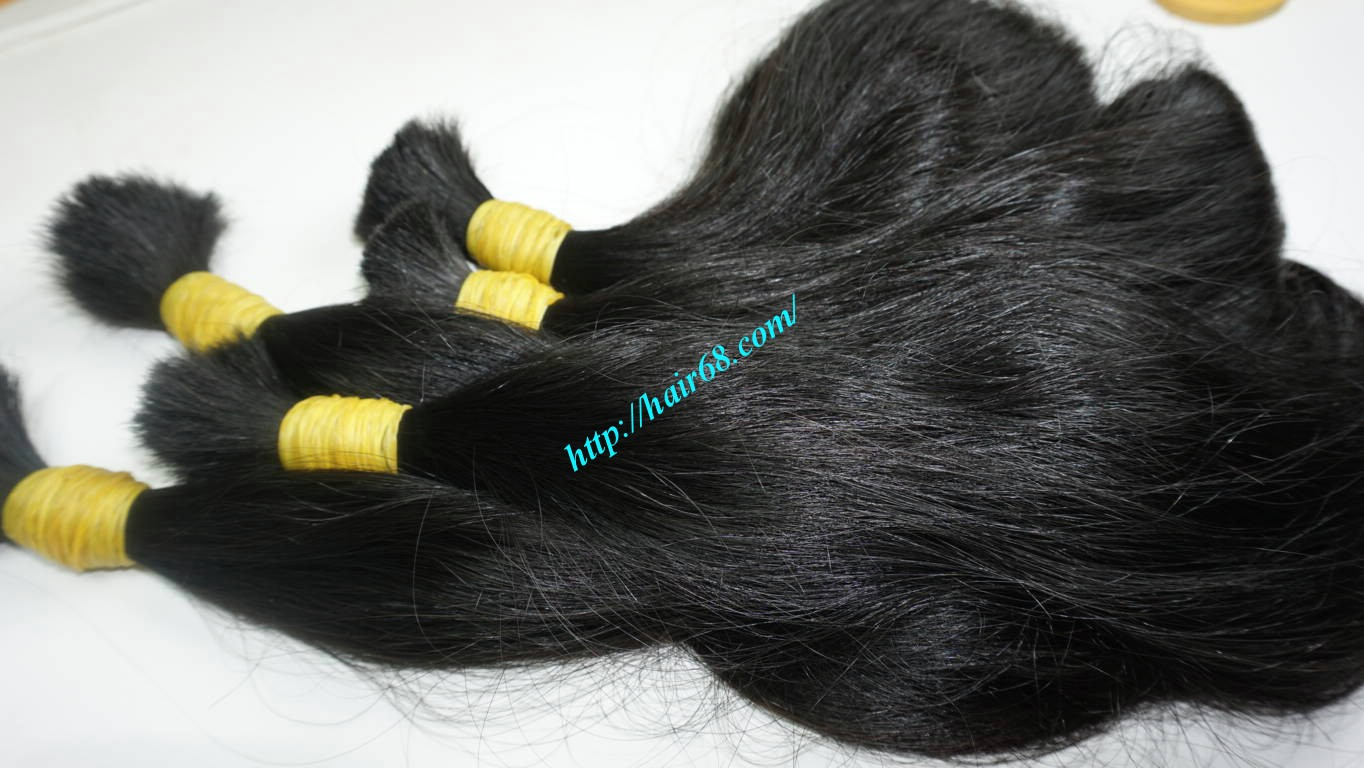 14 inch wavy real hair extensions 7