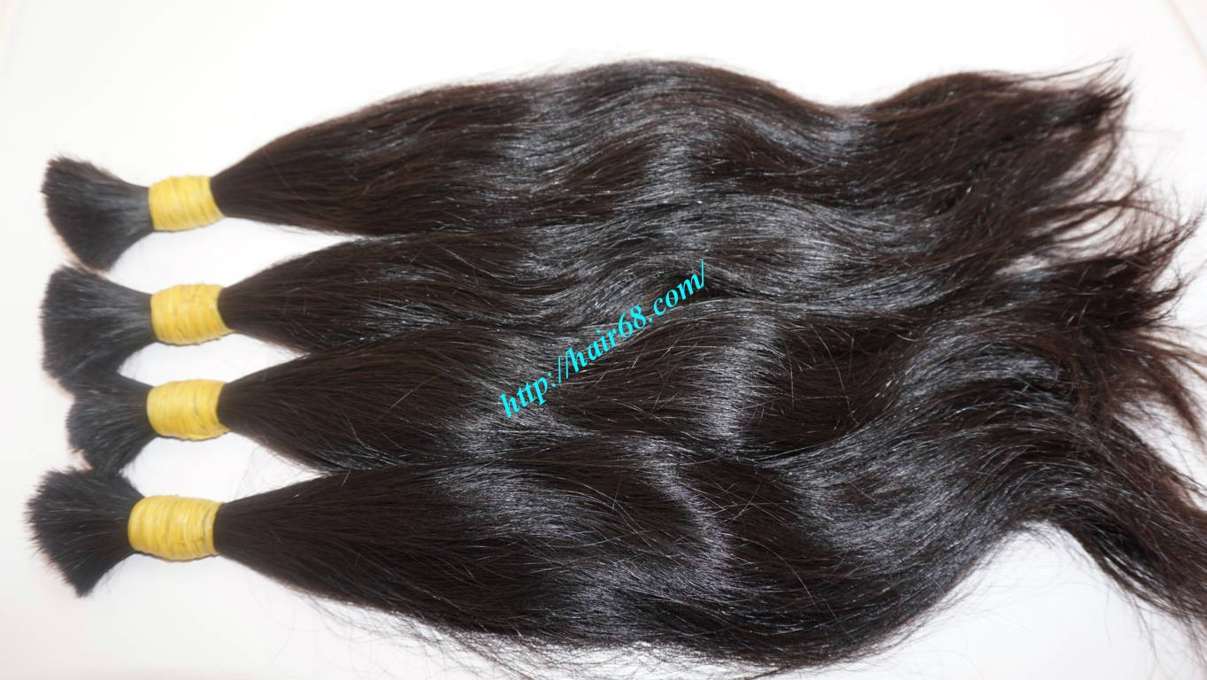 14 inch wavy real hair extensions 9