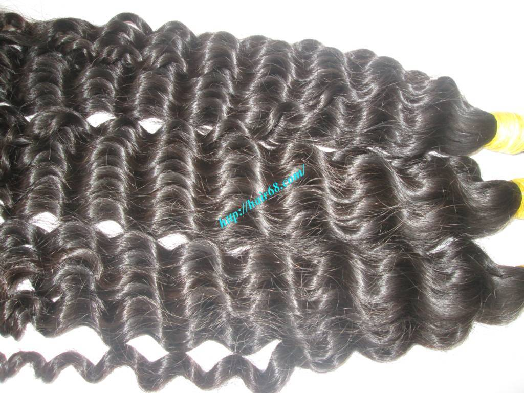 16 inch natural curly hair extensions 1