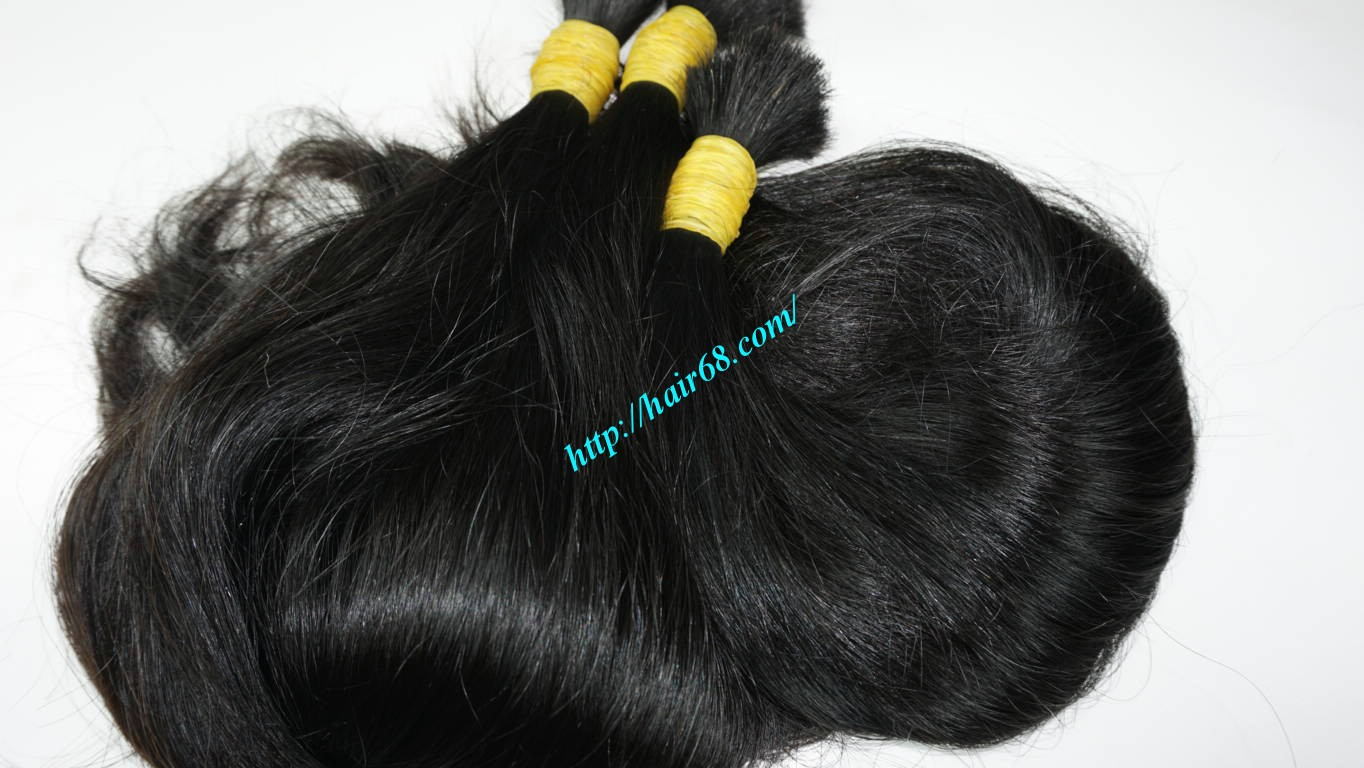 16 inch thick wavy hair extensions 2