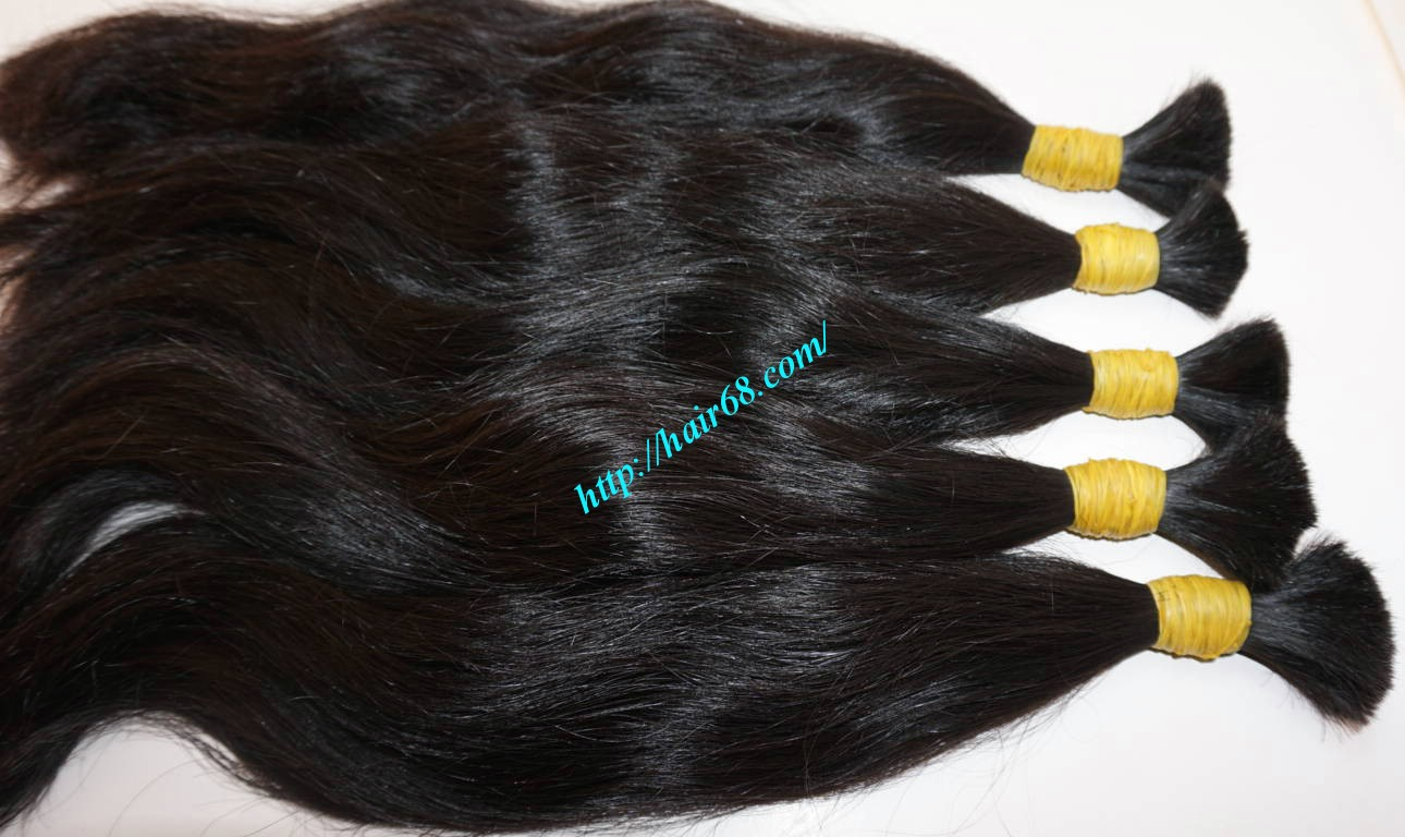 16 inch thick wavy hair extensions 4