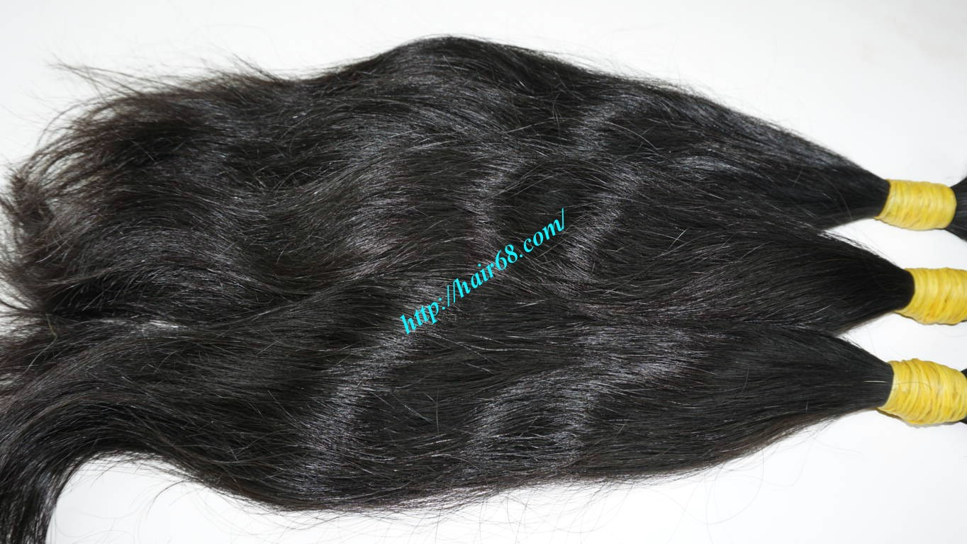 20 inch human hair extensions wavy 1