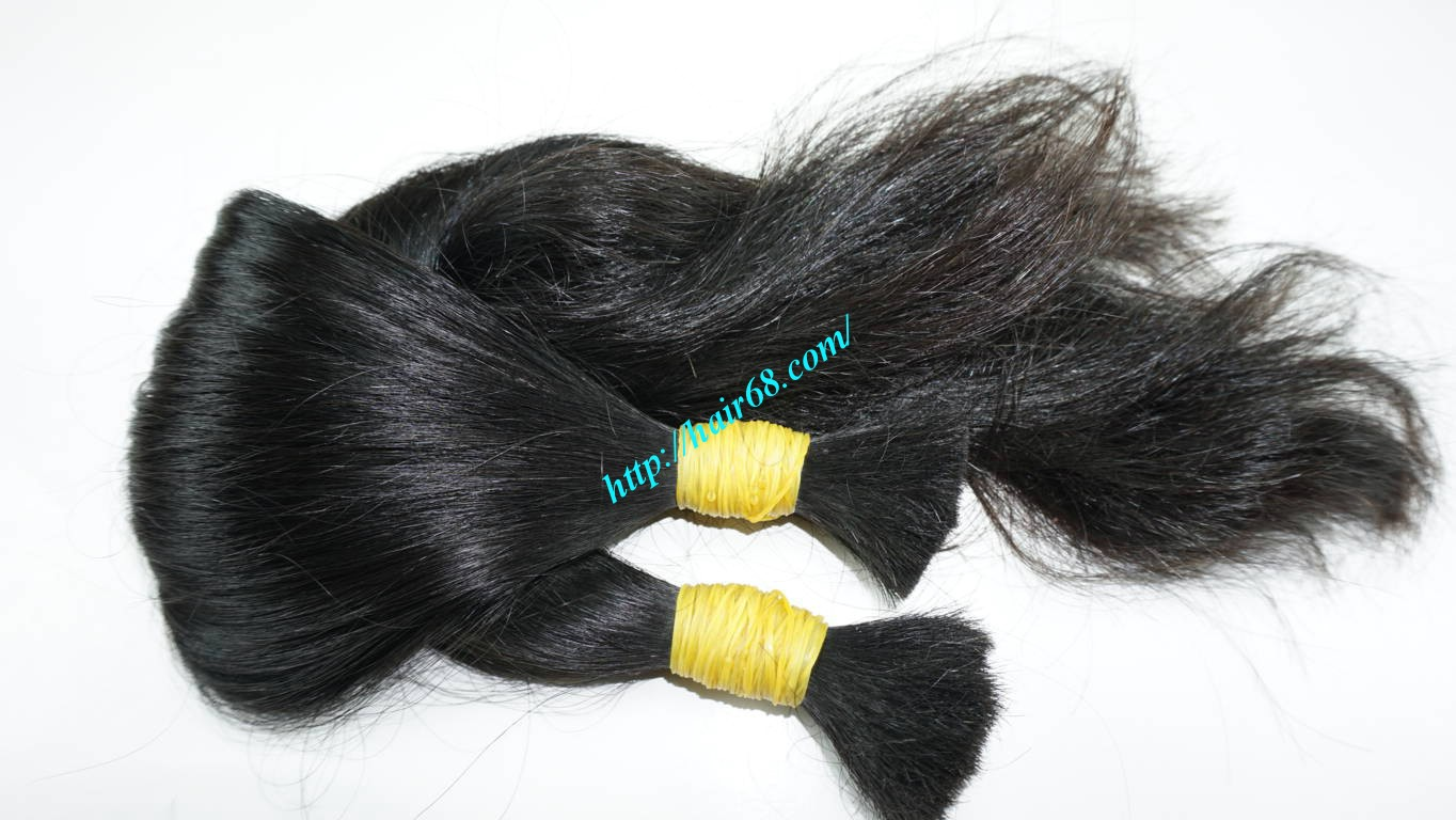 20 inch human hair extensions wavy 2
