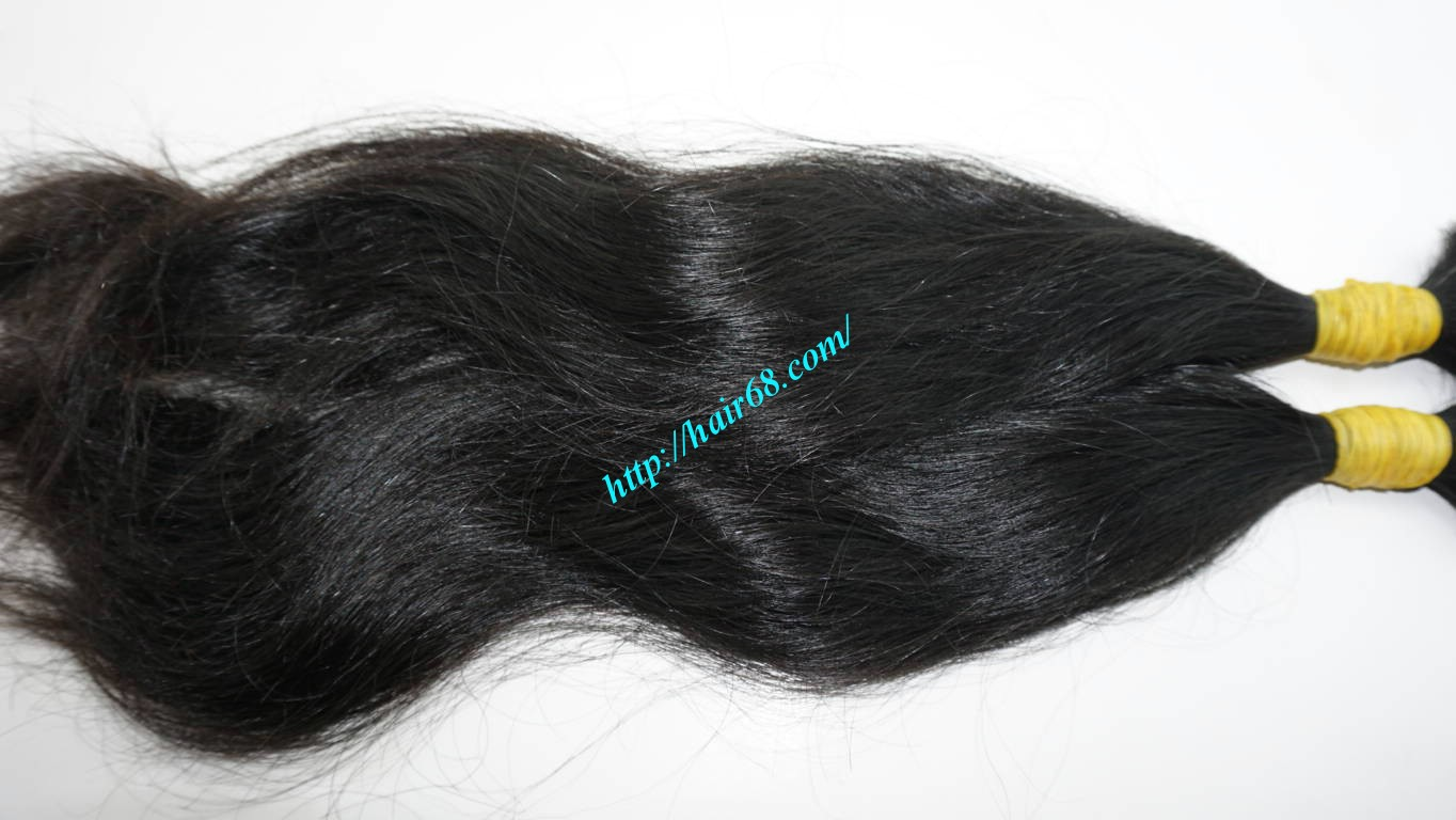 20 inch human hair extensions wavy 3