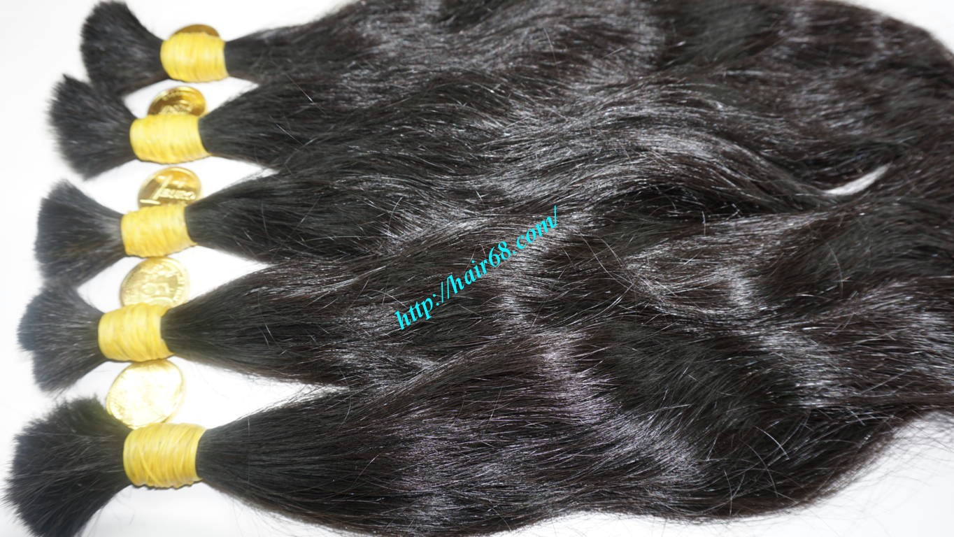 20 inch human hair extensions wavy 4