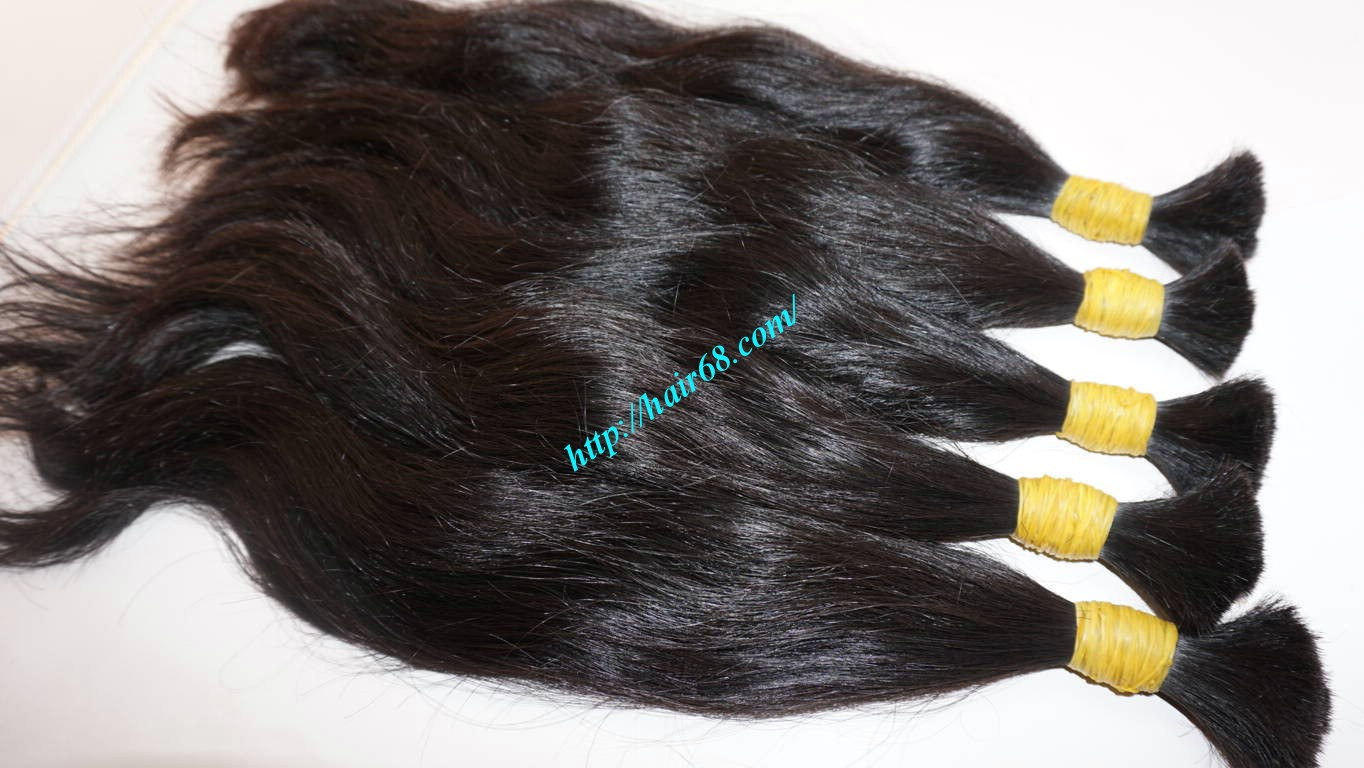 20 inch human hair extensions wavy 9