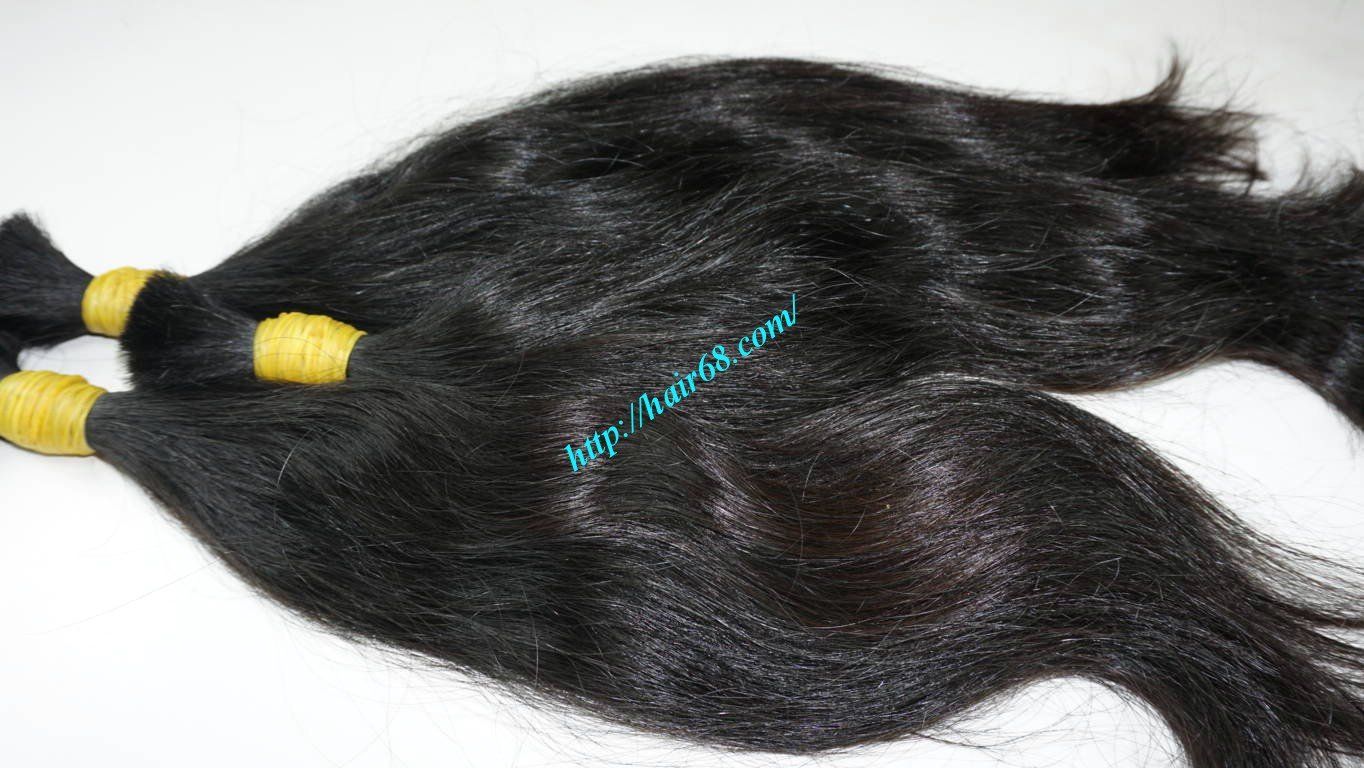 24 inch 100 real human hair extensions 2