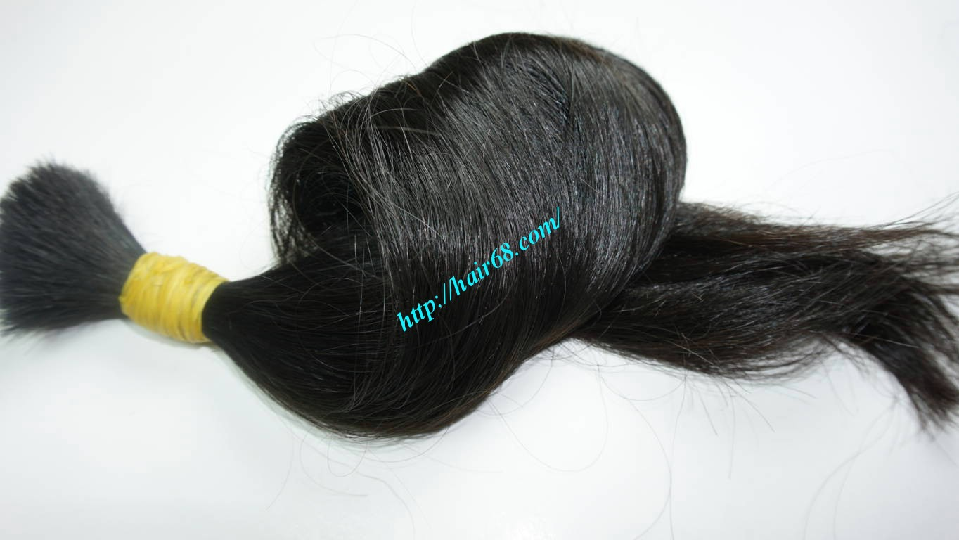 24 inch 100 real human hair extensions 3