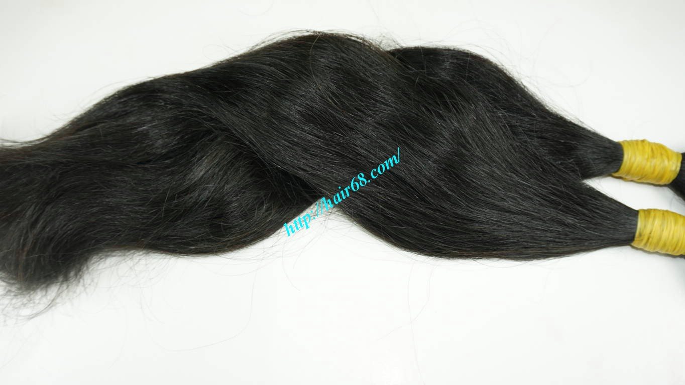 24 inch 100 real human hair extensions 4