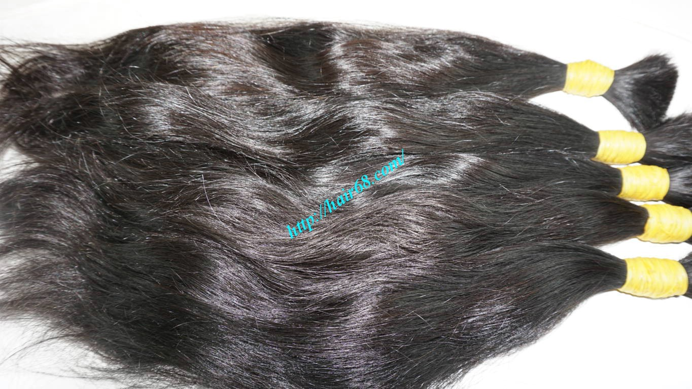 24 inch 100 real human hair extensions 6