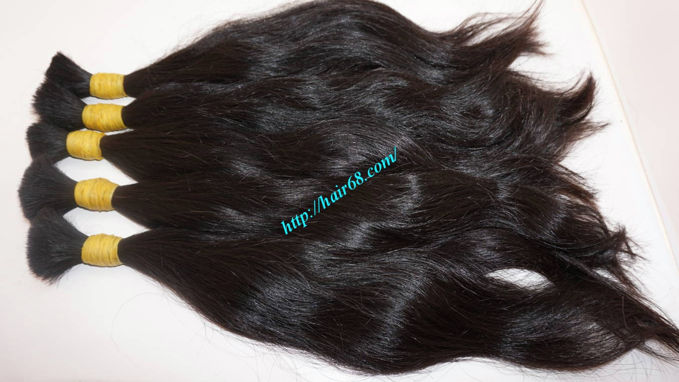 24 inch 100 real human hair extensions 7