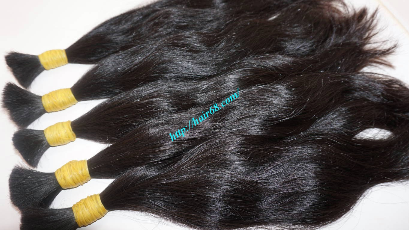 24 inch 100 real human hair extensions 8