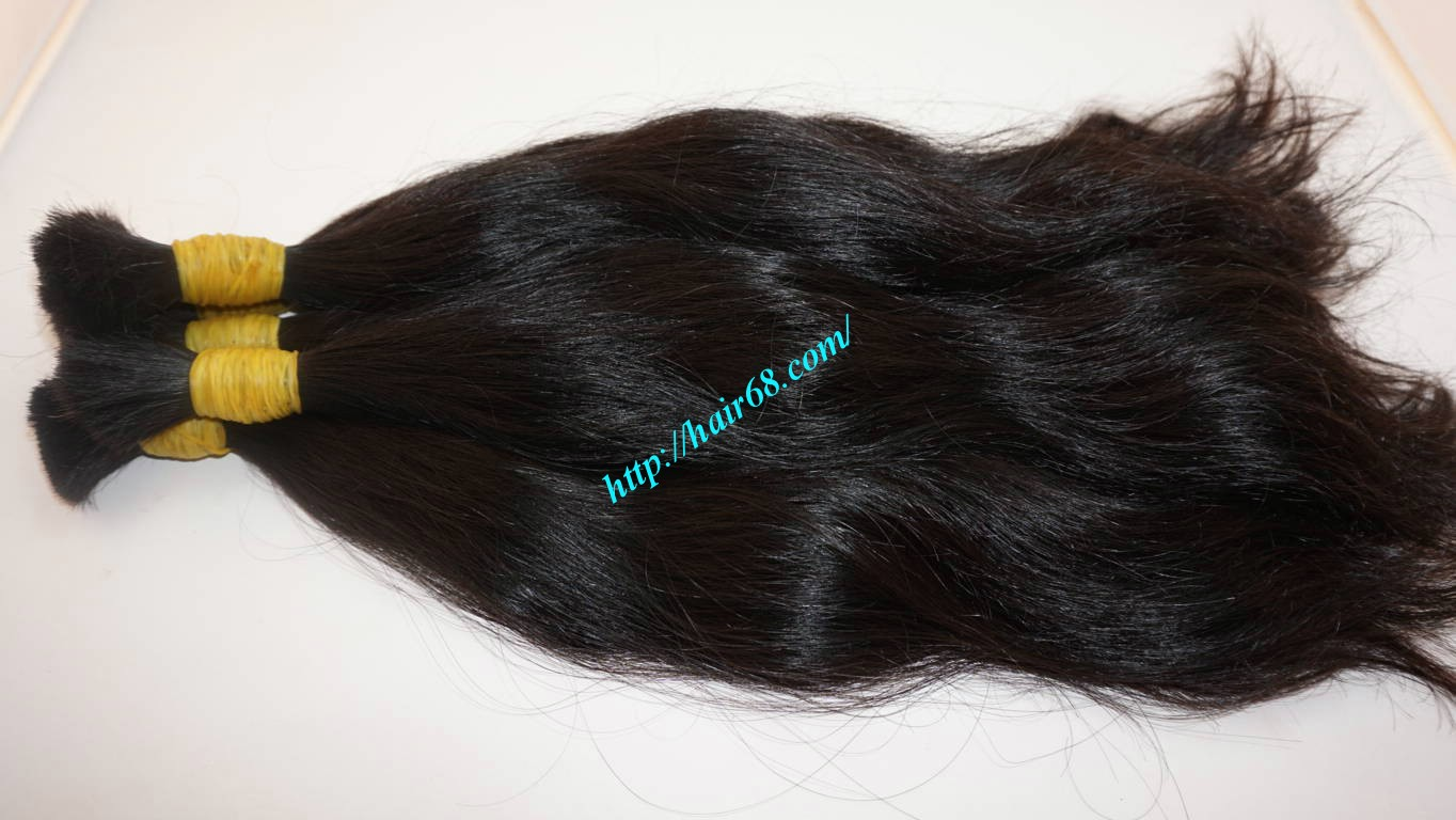 24 inch 100 real human hair extensions 9
