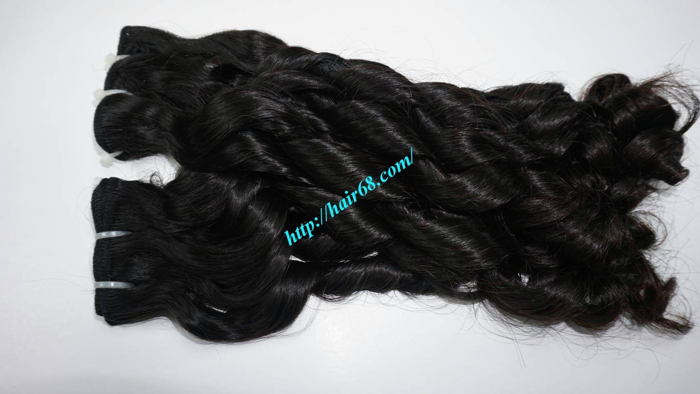 14 Inch Loose Curl Weave Hair