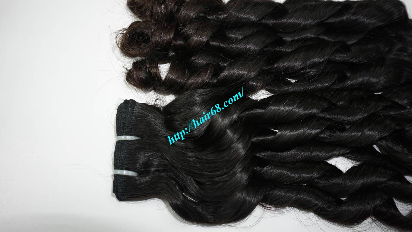 16 inch Loose Curl Weave Hair 1