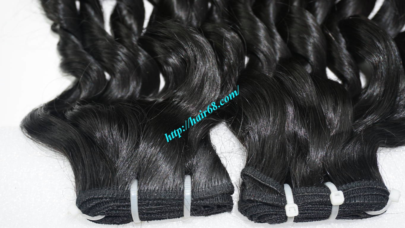 16 inch Loose Curl Weave Hair 2