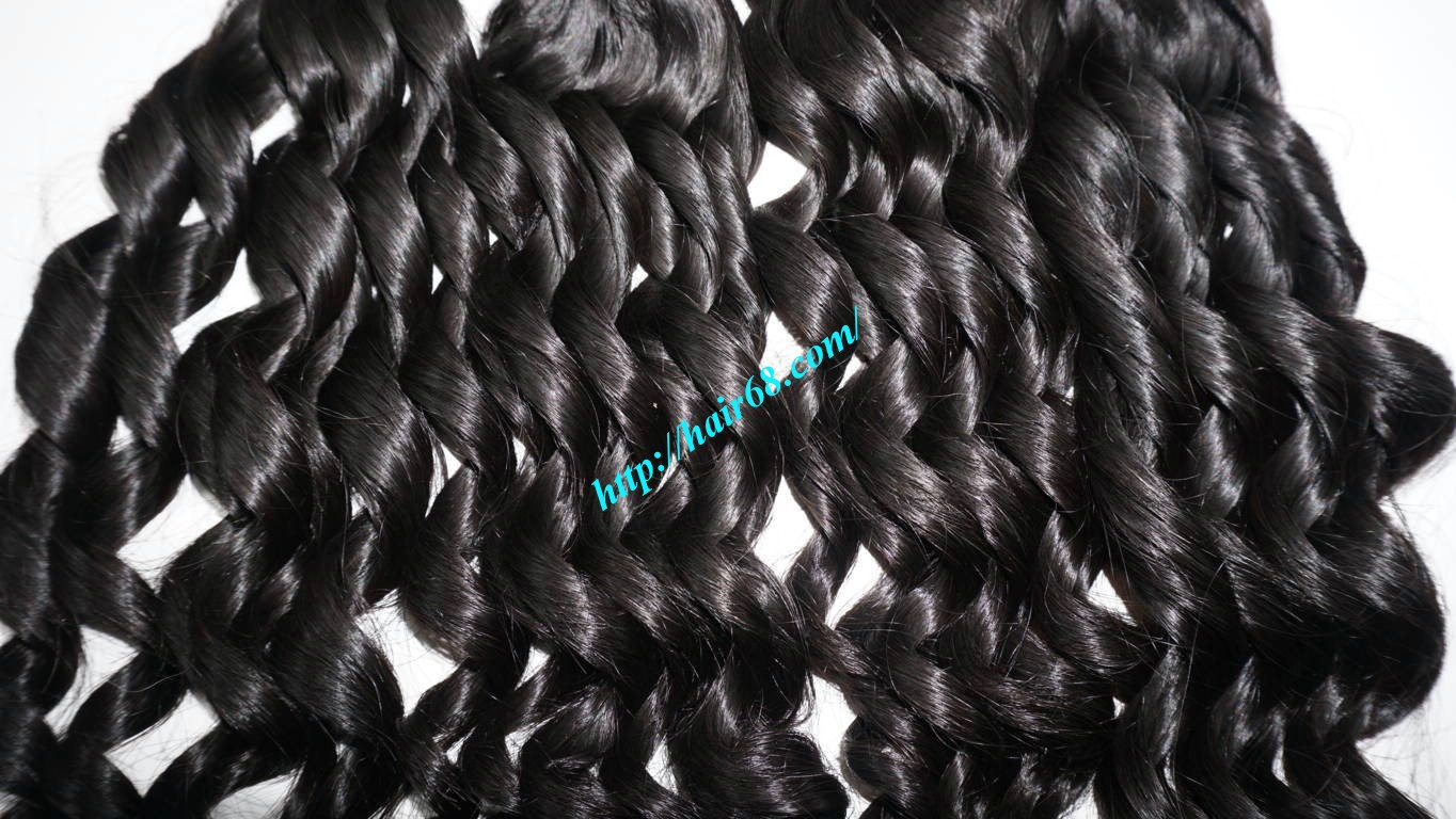 16 inch Loose Curl Weave Hair 3
