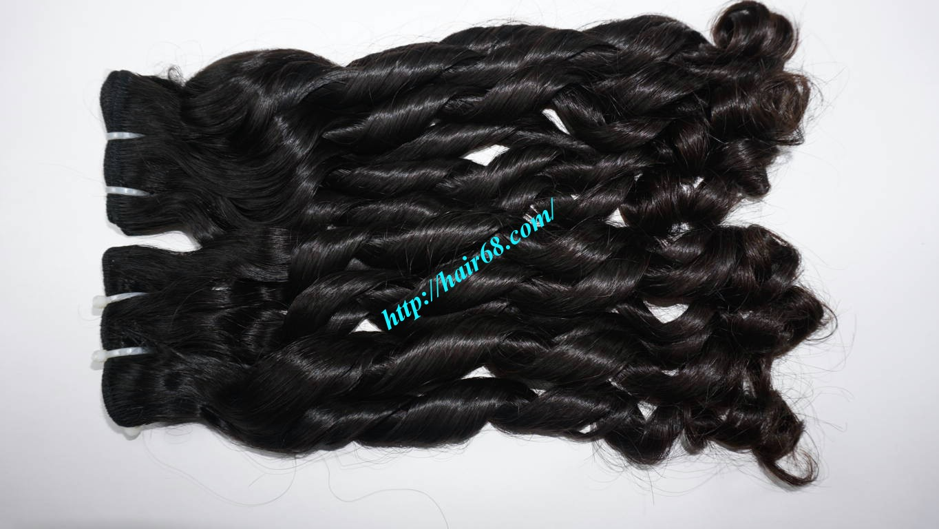 16 inch Loose Curl Weave Hair 5