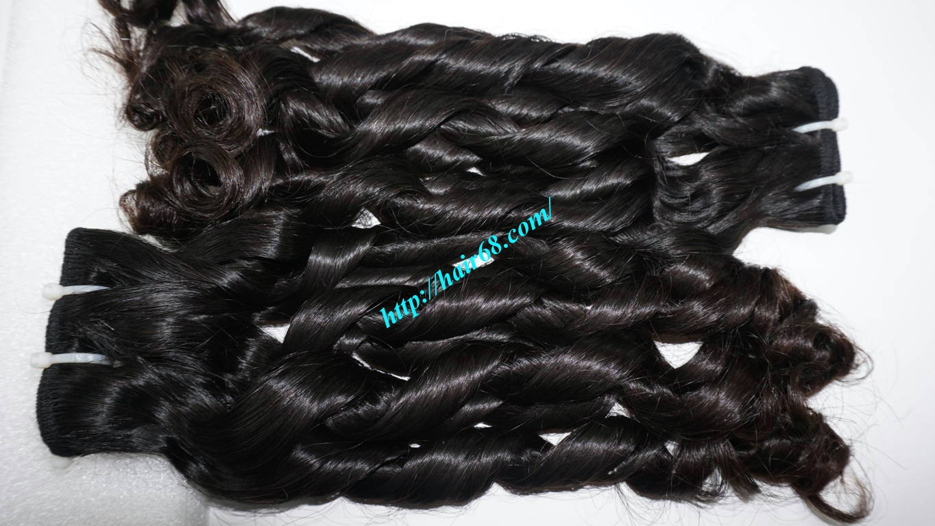 16 inch Loose Curl Weave Hair 6