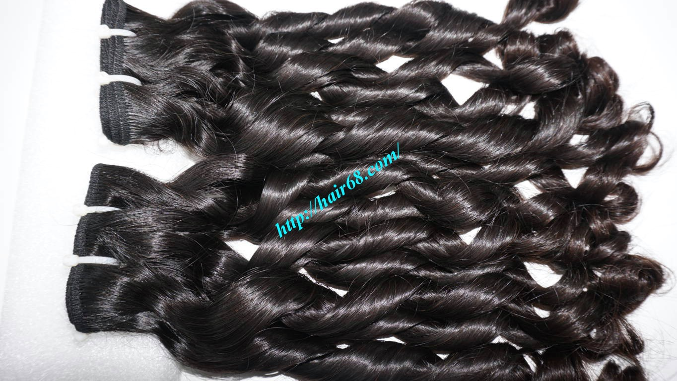 16 Inch Loose Curl Weave Hair, No Tangle No Short Hair