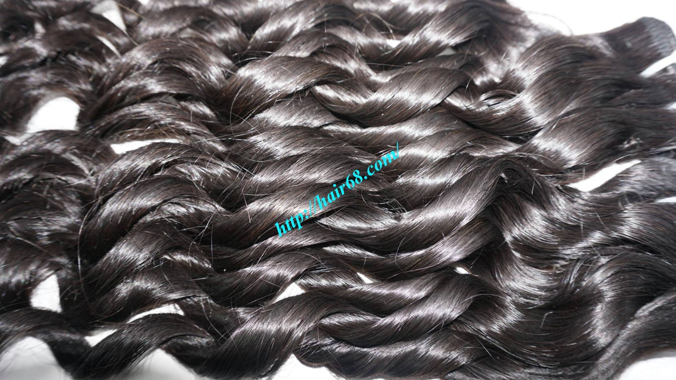16 inch Loose Curl Weave Hair 9
