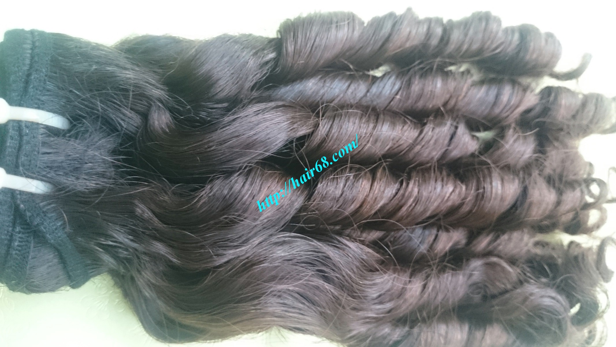 18 inch Loose Curls Weave Hair 1