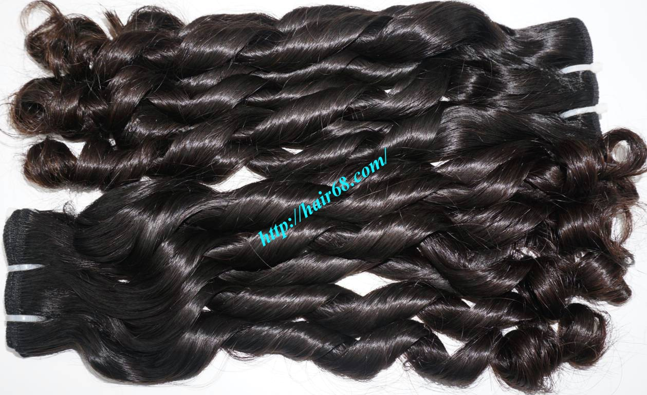 18 inch Loose Curls Weave Hair 5