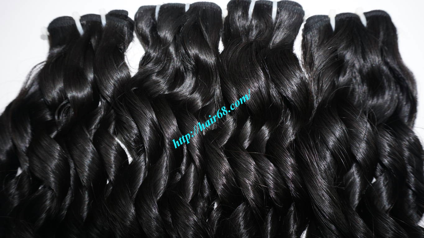 22 inch Loose Curly Hair Weave 1