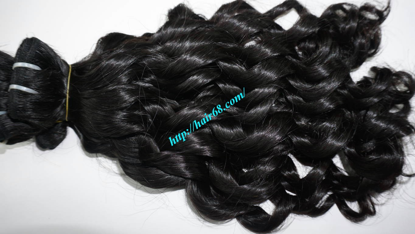 22 inch Loose Curly Hair Weave 6