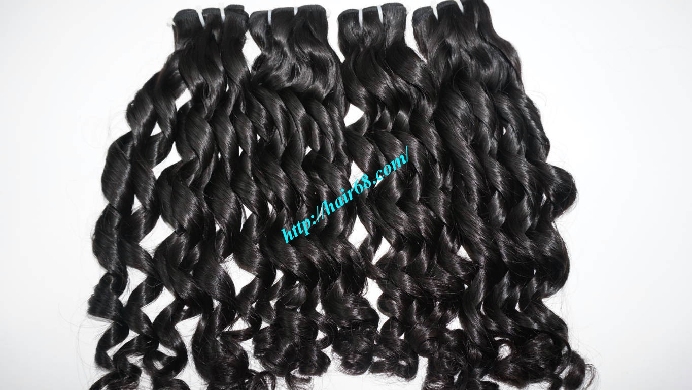 22 inch Loose Curly Hair Weave 7