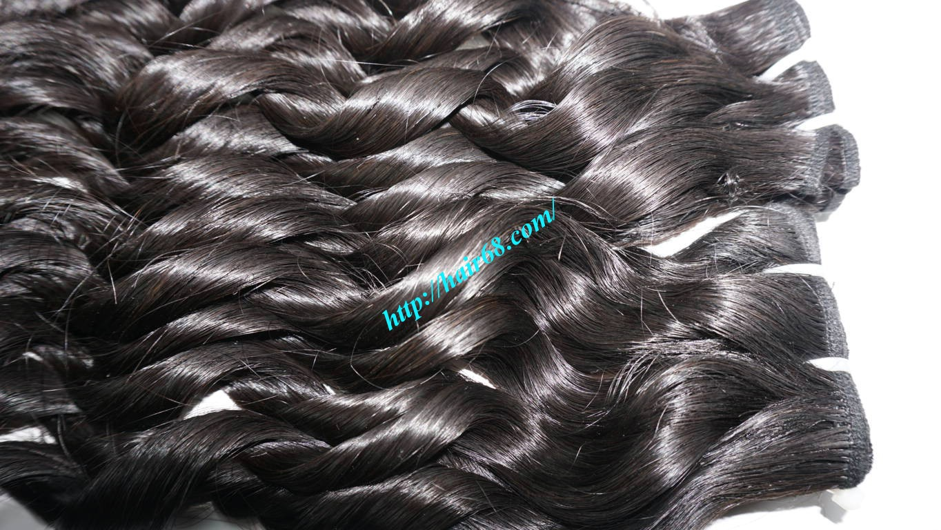 22 inch Loose Curly Hair Weave 9