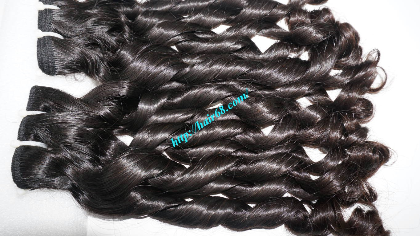 24 inch Loose Curly Virgin Hair 8