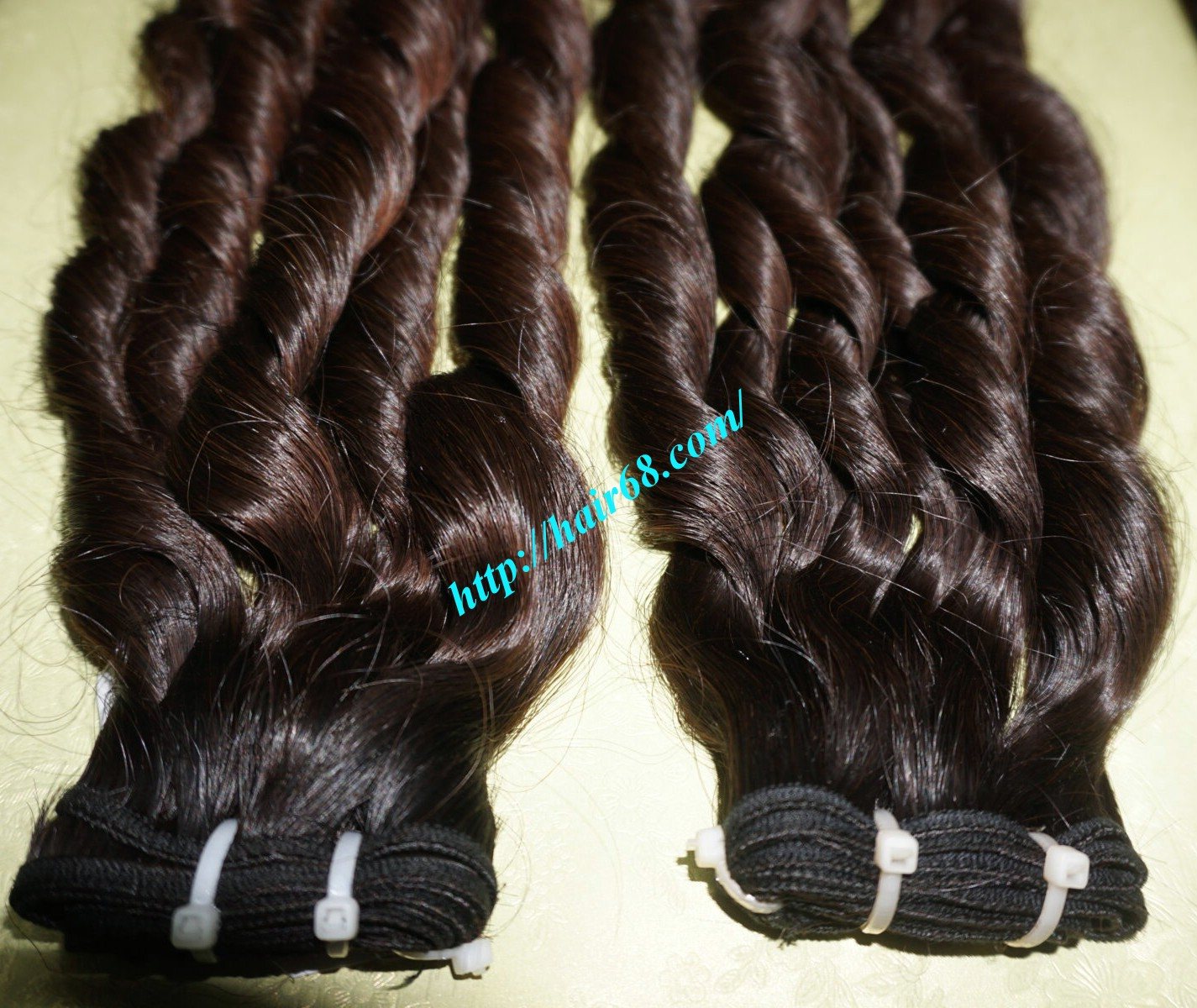26 Inch Loose Curly Hair Weave No Short Hair