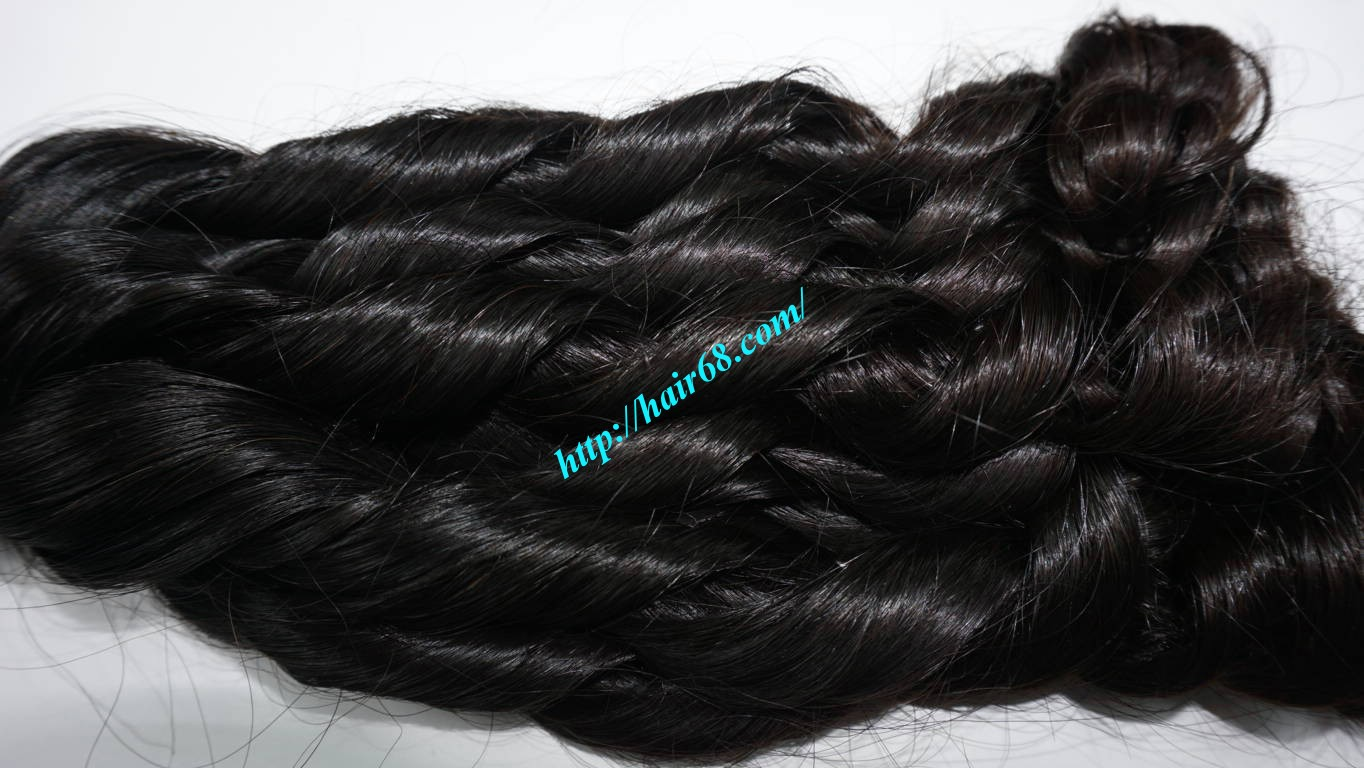 26 inch Loose Curly Hair Weave 2