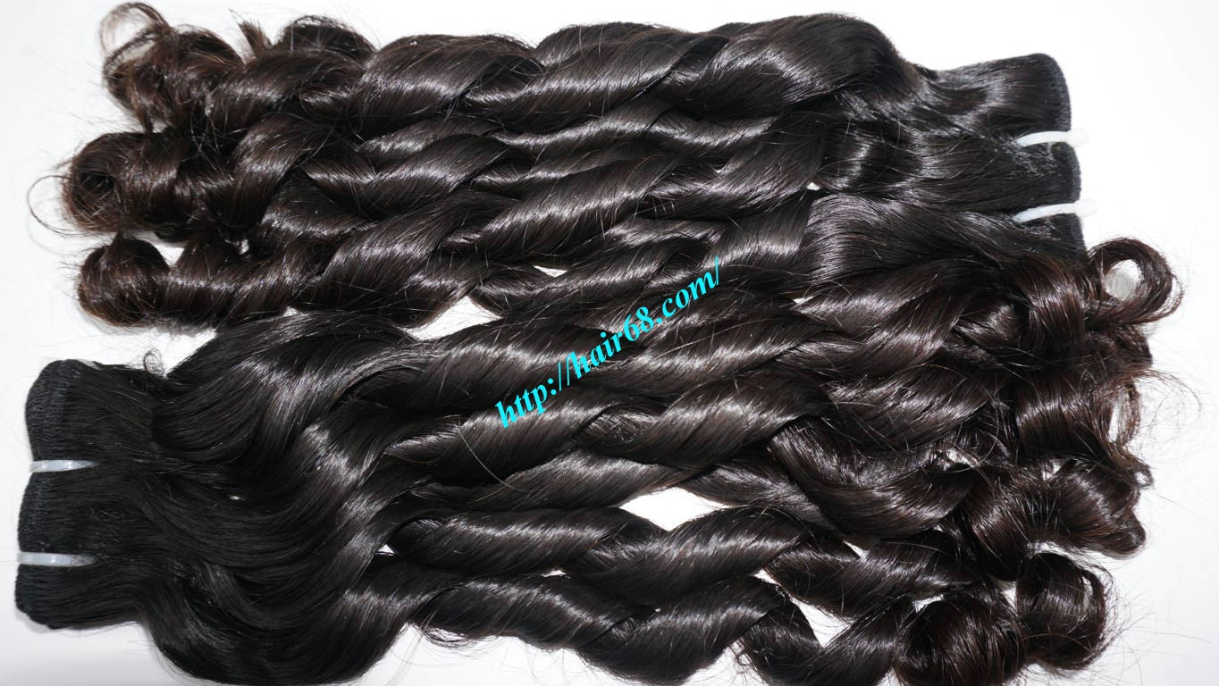 26 inch Loose Curly Hair Weave 6